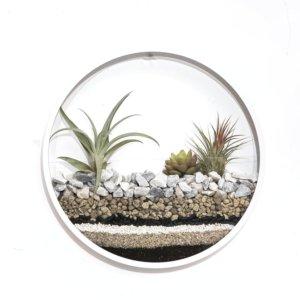 Circle planter rozmiar L snow white Earth